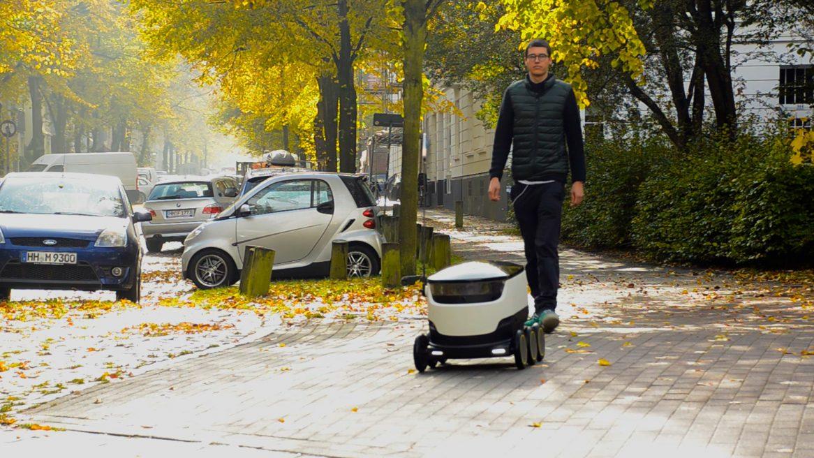 Paketzustellung 4.0 – Hermes testet Lieferroboter in Hamburg